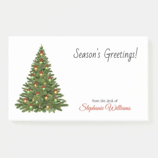 Christmas tree seasons greetings ornament swag post it notes christmas tree seasons greetings ornament swag post it notes m4hsunfo