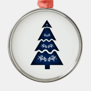 Christmas Tree Sectional call ornament 3 dk blue.p
