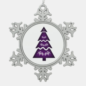 Christmas Tree Sectional call ornament 3 purple.pn