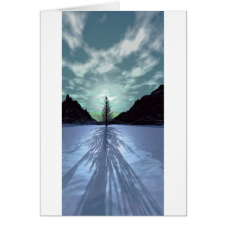 Christmas Tree Shadow1 Card