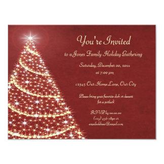 Christmas Tree Shimmer Card
