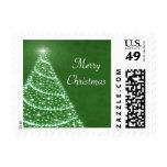 Christmas Tree Shimmer Postage
