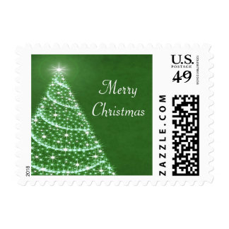 Christmas Tree Shimmer Stamps