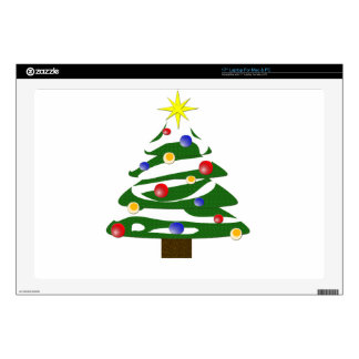 Christmas Tree Laptop Decals