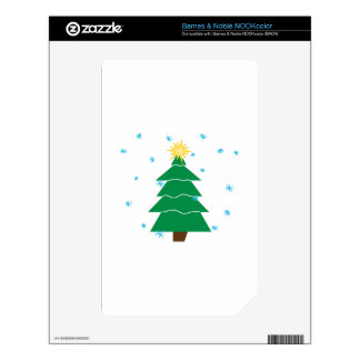 Christmas Tree Skin For NOOK Color