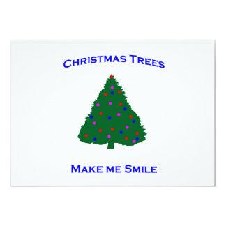 Christmas Tree Smiles Card