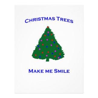 Christmas Tree Smiles Flyers