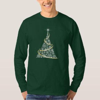Christmas Tree snowflake/star pattern Unisex Fit T-Shirt