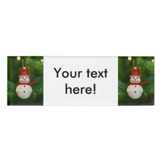 Holiday ornaments name tags badges zazzle for Decoration names for christmas