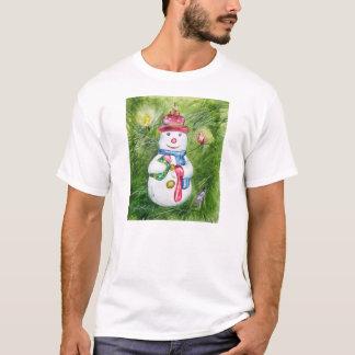Christmas Tree Snowman Shirt