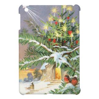 Christmas Tree Songbird Evergreen Church Cover For The iPad Mini