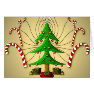 Christmas Tree Spirit - Christmas Greeting Card