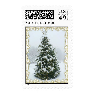 Christmas Tree Stamp with matching card