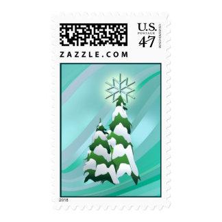 CHRISTMAS TREE STAR by SHARON SHARPE Postage