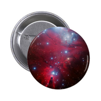 Christmas Tree Star Cluster Button