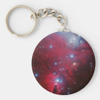Christmas Tree Star Cluster Keychain