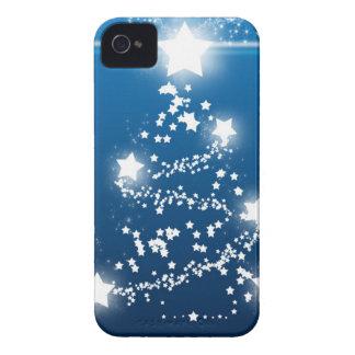 Christmas tree star Frohe Weihnachten iPhone 4 Case