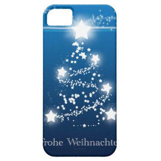 Christmas tree star Frohe Weihnachten iPhone SE/5/5s Case