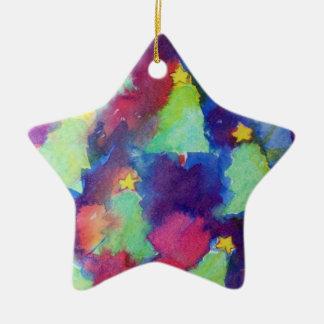 CHRISTMAS TREE Star Christmas Tree Ornaments