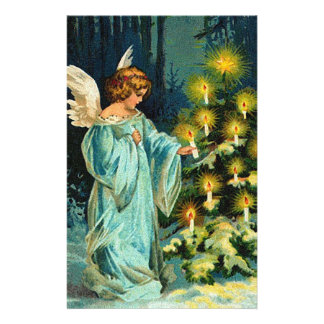 Christmas Tree Customized Stationery
