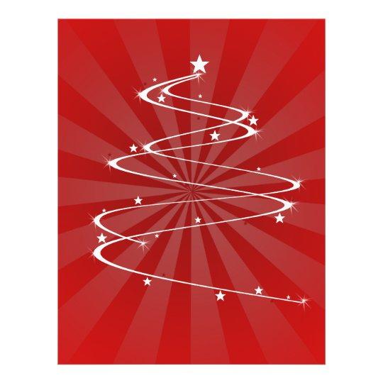 christmas tree swril flyer