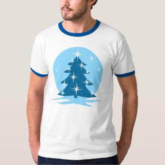 Christmas Tree T-shirt Classic Holiday Ringer Tee