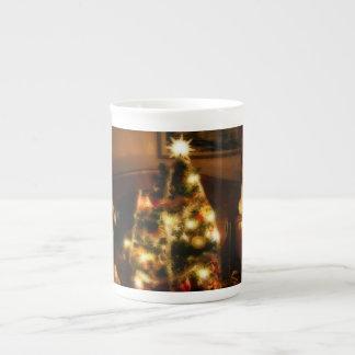 Christmas Tree Tea Cup