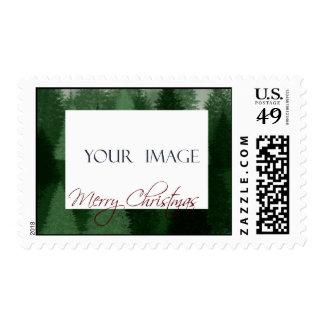 Christmas Tree Template Postage