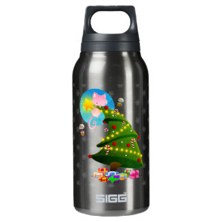 Christmas Tree Thermos Water Bottle