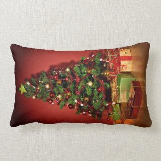 Christmas tree throw cushion pillow