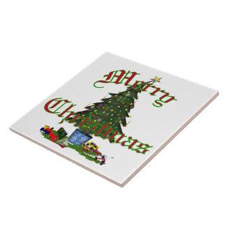 Christmas Tree Tile   6x6