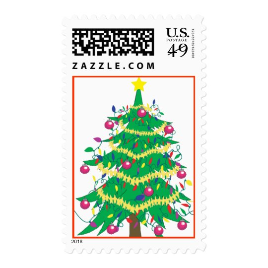 christmas_tree, Tis the Season Postage