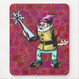 Christmas Tree Topper and Elf Mouse Pad