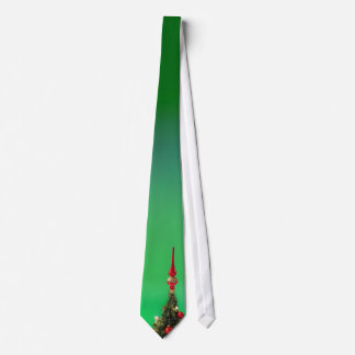 Christmas Tree Topper Tie - Green