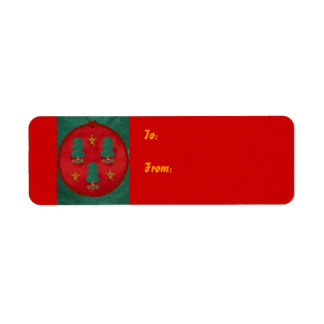 Christmas Tree Trinity, Label