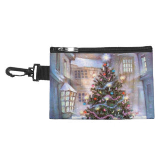 Christmas Tree Vintage Accessory Bag