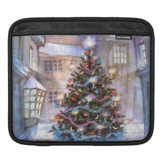Christmas Tree Vintage iPad Sleeve