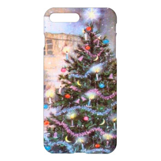 Christmas Tree Vintage iPhone 8 Plus/7 Plus Case
