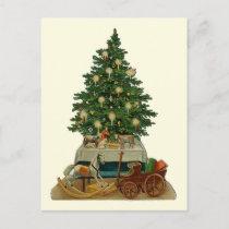 """""""Christmas Tree"""" Vintage Postcard"""