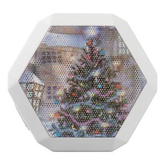 Christmas Tree Vintage White Bluetooth Speaker