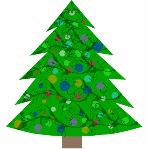 Christmas Tree Wall Sculpture Acrylic Cut Outs Zazzle