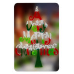 Christmas Tree Wishes Rectangular Magnet