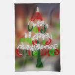 Christmas Tree Wishes Towels