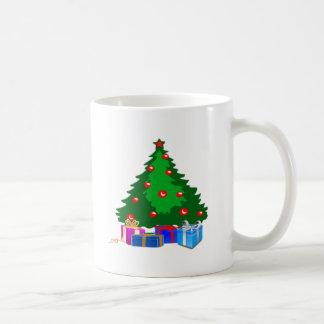 Christmas Tree with Presents Coffee Mug