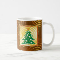 christmas, christmas tree, christmas gift, merry christmas, christmas design, festive design, xmas, decorative, season greetings, holiday gift, gift, contemporary, whimsical, merry, cheerful, illustration, houk, custom, customizable, personalizable, happy new year, winter, eerie, wishes, Mug with custom graphic design