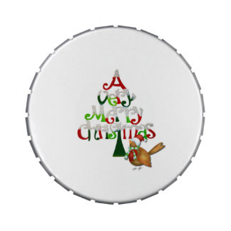 Christmas Tree Words Jelly Belly Tins