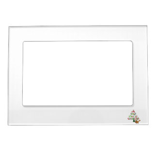 Christmas Tree Words Magnetic Photo Frame