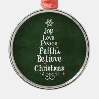 Green Word Joy Holiday Decorations  Christmas Dcor  Zazzle