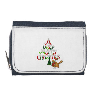 Christmas Tree Words Wallets