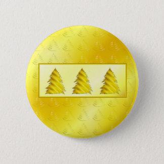 Christmas Tree Yellow Button